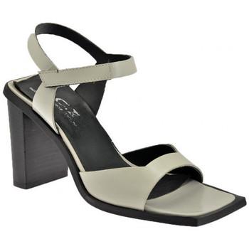 Scarpe Donna Sandali Nci Velcro Tacco 85 Sandali perla