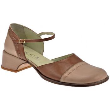 Scarpe Donna Sandali Nci Cinturino Tacco 40 Sandali pietra