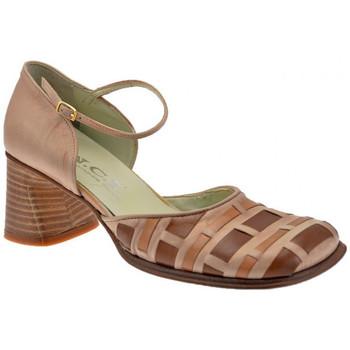 Scarpe Donna Sandali Nci Intrecciato Tacco 60 Sandali pietra