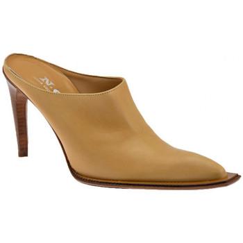 Scarpe Donna Zoccoli Nci TexanoTacco110Sabot beige