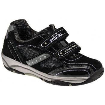 Scarpe Unisex bambino Sneakers basse Swissies AsiaSportivebasseSportivebasse Sportive basse nero