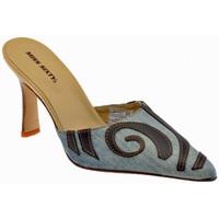 Scarpe Donna Zoccoli Miss Sixty Tacco 80 Etnic Sabot multicolore