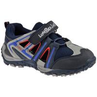 Scarpe Unisex bambino Sneakers basse Lumberjack Outdoor Sportive basse blu