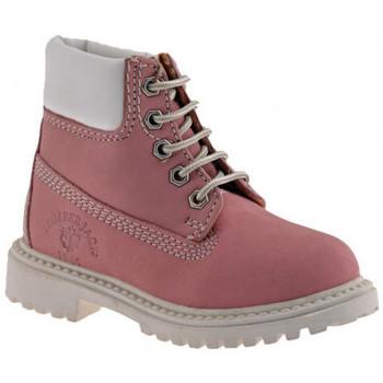 Scarpe Bambina Stivaletti Lumberjack River Kids Scarponcini rosa