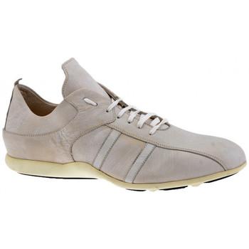 Scarpe Uomo Sneakers alte Docksteps ZybraSoccerStyleCasualSneakers panna