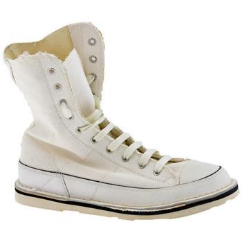 Scarpe Uomo Sneakers alte Cult Tyres Alto Scarponcini bianco