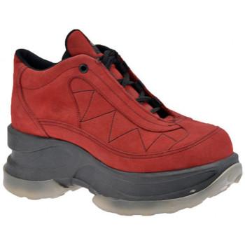 Scarpe Donna Sneakers alte Cult Abuse NB Zeppa bordeaux