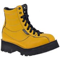 Scarpe Donna Stivaletti Cult Hanger Scarponcini giallo