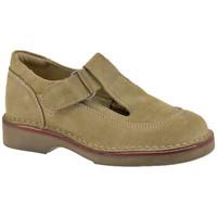 Scarpe Bambino Mocassini Geox Sandal Velcro Casual beige