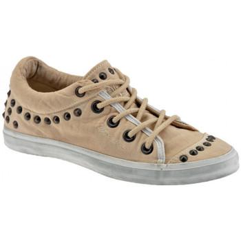 Scarpe Donna Sneakers basse Fornarina Lite Borchiate Sportive basse beige