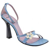 Scarpe Donna Sandali Josephine Fiore Tacco 100 Sandali multicolore
