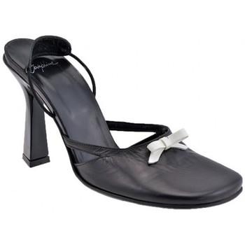 Scarpe Donna Sandali Josephine Fiocco Tacco 100 Sandali nero