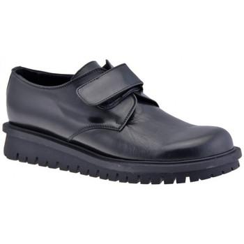 Scarpe Donna Sneakers alte Dockmasters VelcroCasualSneakers nero