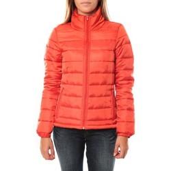 Abbigliamento Donna Piumini Vero Moda JACKET GRAFITTI SHORT SN Poinciana Arancio