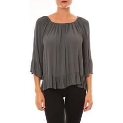 Abbigliamento Donna Top / Blusa La Vitrine De La Mode By La Vitrine Blouse Giulia anthracite Grigio