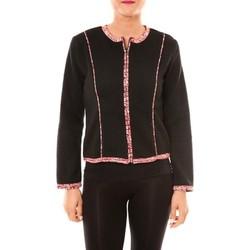 Abbigliamento Donna Giacche / Blazer Bamboo's Fashion Veste BW667 noir Nero