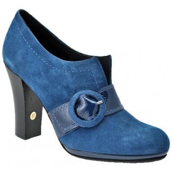 Scarpe Donna Décolleté Impronte Decoltè Tacco 100 Tacchi alti blu