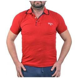 Abbigliamento Uomo Polo maniche corte Converse PiquetPolo rosso