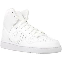 Scarpe Bambino Sneakers alte Nike Son OF Force Mid GS Bianco