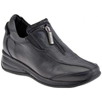 Scarpe Donna Sneakers basse Botticelli SportZipCasualSneakers nero