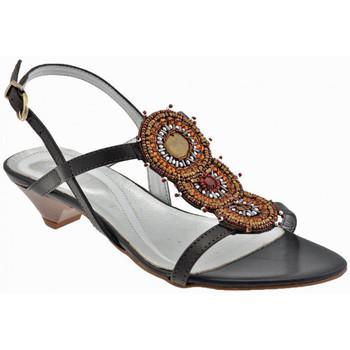 Scarpe Donna Sandali Keys Tacco 30 Etnico Sandali multicolore