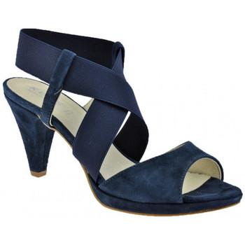 Scarpe Donna Sandali Keys PlateauTacco80Sandali blu