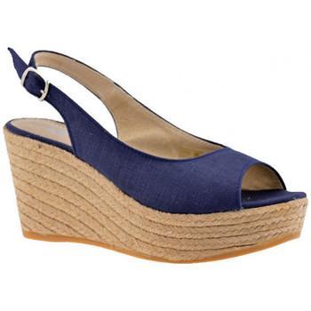 Scarpe Donna Sandali Keys Campesina 90 Sandali blu
