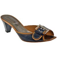 Scarpe Donna Sandali Progetto C233 Tacco 40 Sandali blu