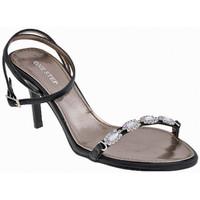 Scarpe Donna Sandali One Step Cinturino Strass Tacco 80 Sandali nero