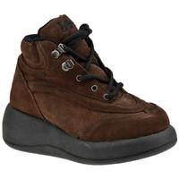 Scarpe Donna Sneakers alte Lee AllacciatoPlatformCasualSneakers marrone