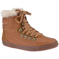 Scarpe Donna Sneakers alte FitFlop Hyka Boot Scarponcini marrone