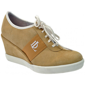 Scarpe Donna Sneakers alte Donna Loka Sneakers60CasualSneakers ocra