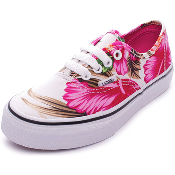 Scarpe Bambina Sneakers basse Vans Authentic (Hawaiian Floral) White