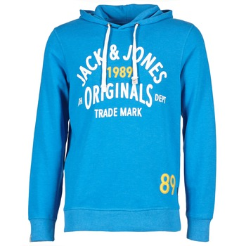Abbigliamento Uomo Felpe Jack & Jones ATHLETIC SWEAT ORIGINALS Blu