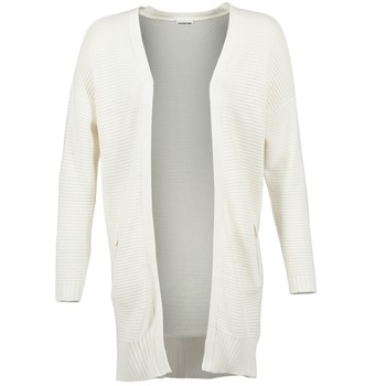 Abbigliamento Donna Gilet / Cardigan Noisy May BALE ECRU