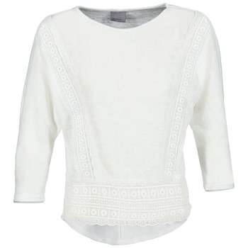 Abbigliamento Donna T-shirts a maniche lunghe Vero Moda MYBELLA Bianco
