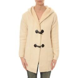 Abbigliamento Donna Gilet / Cardigan De Fil En Aiguille Veste Laine Lili Lala 1811 ECRU Beige