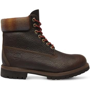 Scarpe Uomo Stivaletti Timberland Chaussures 6 In Premium Bt Brown  - Marron