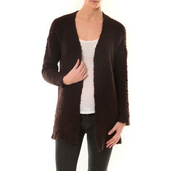Abbigliamento Donna Gilet / Cardigan De Fil En Aiguille GILET ZINKA 1186 MARRON Marrone