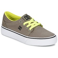 Scarpe Bambino Sneakers basse DC Shoes TRASE TX Taupe