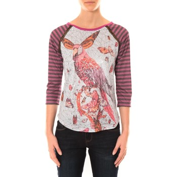 Abbigliamento Donna T-shirts a maniche lunghe Custo Barcelona Top Nia Doolin multicouleurs Multicolore