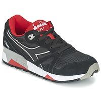 Scarpe Sneakers basse Diadora N9000 NYLON II Nero / Rosso