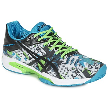 Scarpe Uomo Tennis Asics GEL-SOLUTION SPEED 3 L.E. NYC Bianco / Nero / Blu