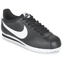 Scarpe Donna Sneakers basse Nike CLASSIC CORTEZ LEATHER W Nero / Bianco