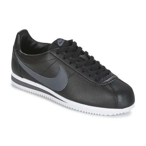 Scarpe Uomo Sneakers basse Nike CLASSIC CORTEZ LEATHER Nero / Grigio
