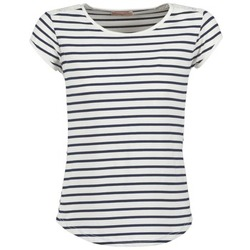 Abbigliamento Donna T-shirt maniche corte Moony Mood EIYA Bianco / Blu