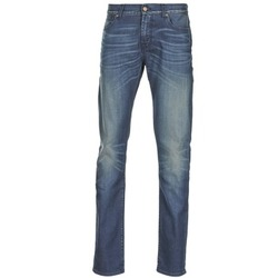 Abbigliamento Uomo Jeans slim 7 for all Mankind RONNIE ELECTRIC MIND Blu / MEDIUM