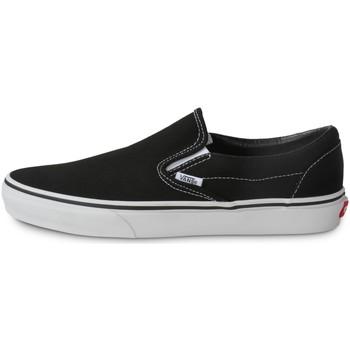 Scarpe Uomo Scarpe da Skate Vans Classic Slip-on Noir