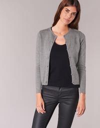 Abbigliamento Donna Gilet / Cardigan BOTD EVANITOA Grigio