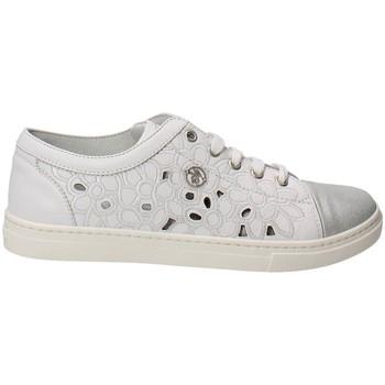 Scarpe bambini Blumarine  D1443 Sneakers Bambina Pelle  Bianco